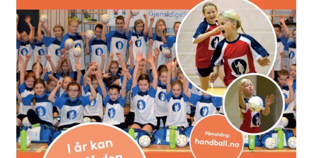 Håndballskolen-plakat 2016
